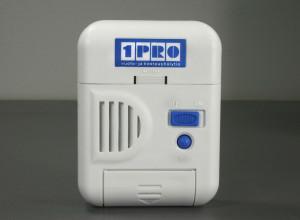 1PRO vuoto- ja kosteushälytin keskusyksikkö edestä pääkuva