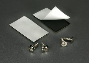 1PRO vuoto- ja kosteushälytin sensorin kiinnitystarrat ja ruuvit