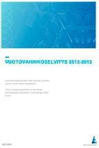 Vakuutusyhtiöiden vuotovahinkoselvitys 2013-1